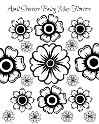 coloring pages free printable flowers free printable clipart for