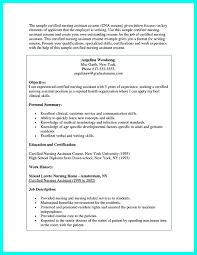 certification on resume example cover letter cna resume examples cna objective resume examples cover letter cna resume sample cna example certified nursing assistant no experience and experiencecna resume examples