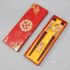 engraved chopsticks personalized engraved chopsticks gift sets wooden plum with box