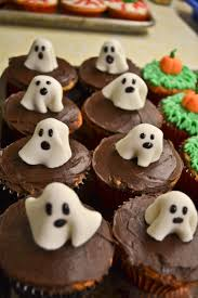 Halloween Cupcakes Ghost Holiday Rachel U0027s Blog