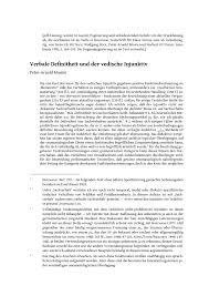 PDF Verbale Definitheit und der vedische Injunktiv