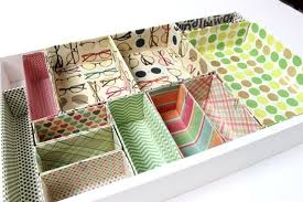 Desk Drawer Organizer Create Your Own Cardboard Box Desk Drawer Organizers Desk Drawer