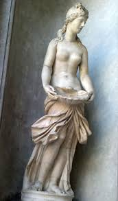 sculptures and paintings of greek gods from the vatican city the