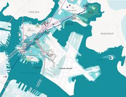 Boston Logan Airport Map City Plots A Series Of Defenses For East Boston U0027s Coast Wbur News