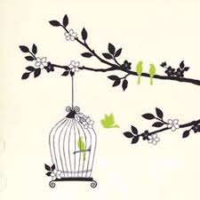 Home Decor Decals Details About Birdcage Birds Tree Removable Wall Sticker Home
