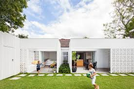 Architect House Breeze Block House Architect Prineas Gardens Pinterest