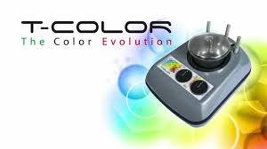 t color hair color mixing heated machine youtube
