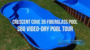 who makes the best fiberglass pool aquaserv pool spa inc crescent cove 35 360 tour