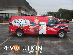 plumbing van wraps making the design stand out for a unique brand