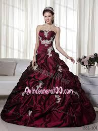 burgundy quince dresses cheap taffeta ups appliqued burgundy sweet 16 dresses