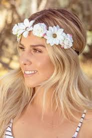 headband flower bachelorette flower headbands lots of colors bachette