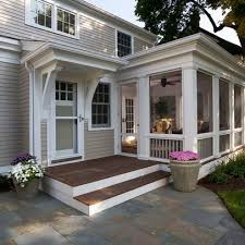 catchy enclosed porch ideas design concept best ideas about three