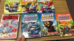 ricky ricotta ricky ricotta s mighty robot book series review youtube