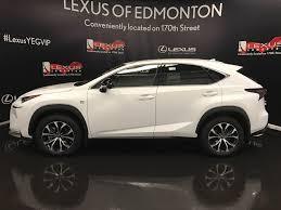 lexus nx interior video new 2017 lexus nx 200t 4 door sport utility in edmonton ab l13537