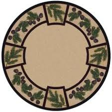 Round Burgundy Rug Evergreen Burgundy Rug 8 Ft Round For The Home Pinterest
