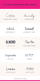 10 free handwriting fonts for your creative projects handwriting