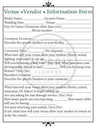 wedding flowers questionnaire follow up meeting check those critical details j morris