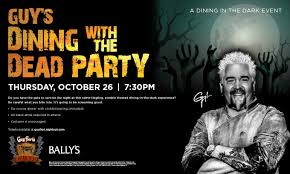guy u0027s dining with the dead party tickets bally u0027s hotel and