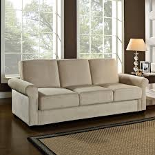 Pottery Barn Sleeper Sofa Serta Meredith Convertible Sofa Bed Tufted Bonded Leather Cover