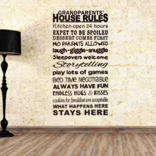 english proverbs house rules large letter words pvc removable room