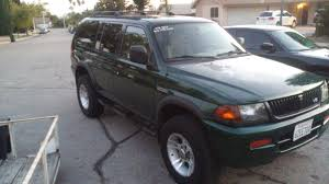 mitsubishi montero sport 2003 1999 mitsubishi montero sport overview cargurus