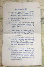 I Am The Flag Escape And Evasion Survival Aids Silk Maps And Escape