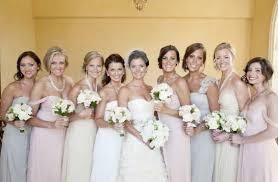 blush colored bridesmaid dress color of my wedding dress regret pic heavy weddingbee