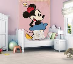 minnie mouse wall mural home design delightful minnie mouse wall mural amazing design