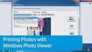 Pictures Of Windows by Printing Photos With Windows Photo Viewer Youtube