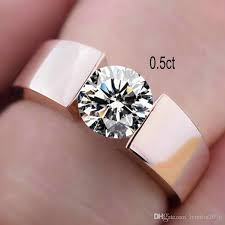 cheap engagement rings for men silver s925 rings women men gold engagement diamond solitaire