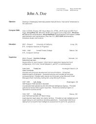resume for internship sles resume objective reddit therpgmovie