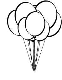 printable pictures balloons coloring free coloring pages