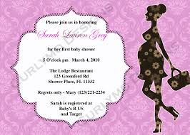 design baby shower invitation card