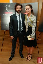 oscar isaac and alicia vikander at the u201cex machina u201d new york