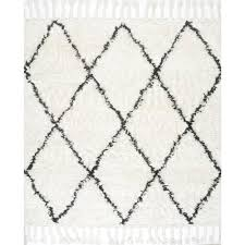 Square Area Rugs 7x7 Nuloom Fez Shag Natural 8 Ft X 8 Ft Square Area Rug Spre14a 808s
