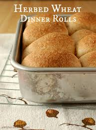 thanksgiving rolls recipe herbed wheat dinner rolls a kitchen addiction