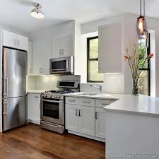 What Color Should I Paint My Kitchen With Dark Cabinets Kitchen Room Small White Kitchens Pinterest White Granite Colors