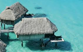 overwater bungalows in the caribbean the tiki hut company