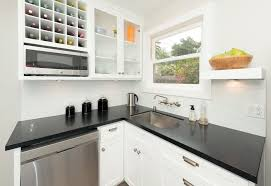 Solid Surface Cabinets 26 Small Kitchens With White Cabinets Designing Idea