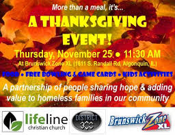 thanksgiving day event more than a meal algonquin news