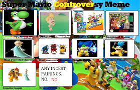 Super Mario Memes - super mario controversy meme by me by charmeleongirl46 on deviantart