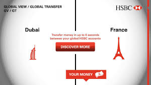 hsbc global view global transfer dubai france youtube