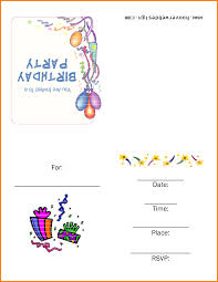 invitation templates 6 free printable birthday invitation templates receipt templates