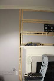 Mounting Tv Over Brick Fireplace by Best 25 Hiding Tv Cords Ideas On Pinterest Hide Tv Cords