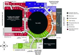 Downtown Las Vegas Map by Store Directory Miracle Mile Shops Viva Las Vegas Pinterest