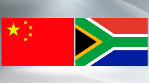 The New South African Flag Xi Zuma Exchange Congratulatory Messages To Mark Anniversary Of