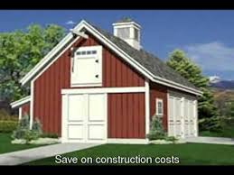 garage barn plans diy pole barn plans how to build your own youtube