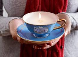 tea cup candle tea cup candles la vita events