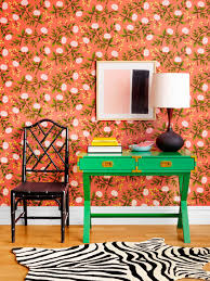 wallpaper choices and decorating ideas hgtv