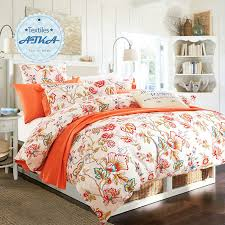 orange silver grey bedding set king size queen quilt doona duvet
